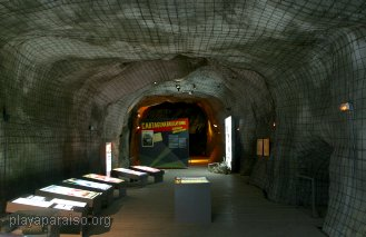 Spanish Civil War air raid shelter